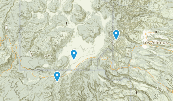 Best Trails In Valles Caldera National Preserve Photos - Calderas in the us map