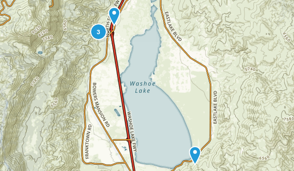 Davis Creek County Park Map