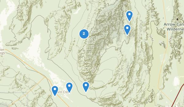 Desert National Wildlife Range Map