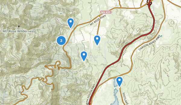 Galena Creek County Park Map