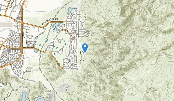 Hidden Valley County Park Map