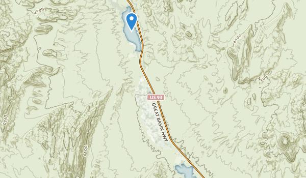 trail locations for Pahranagat National Wildlife Refuge