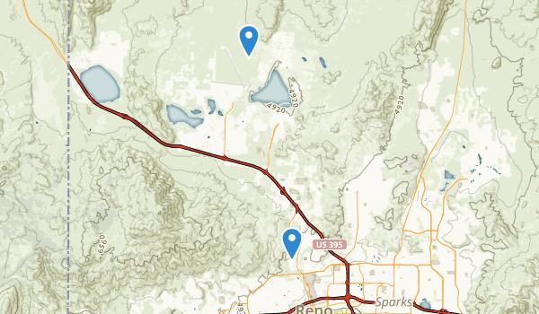 trail locations for Rancho San Rafael Park