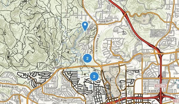 Rancho San Rafael Park Map