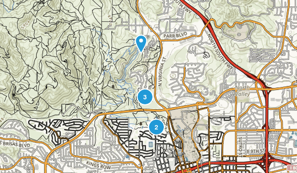 Rancho San Rafael Park Map