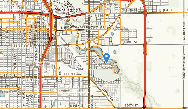 Mae Simmons Park Map