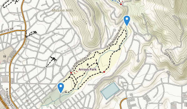 Arroyo Park Map