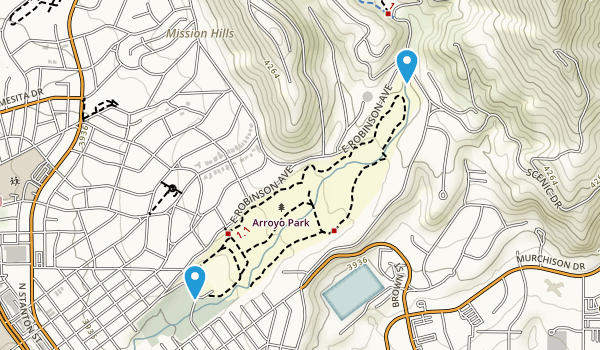 Arroyo Park Map