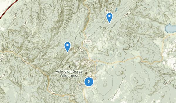 Cedar Breaks National Monument Map