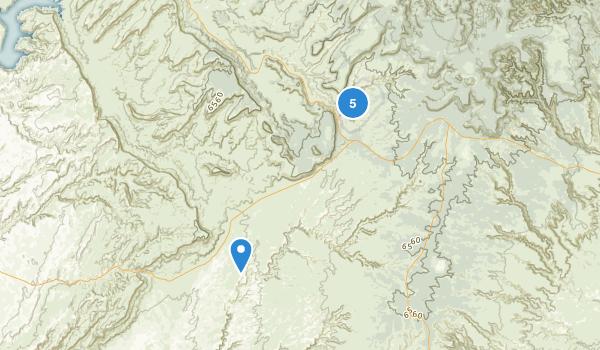 Natural Bridges National Monument Map