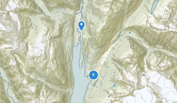 trail locations for Klondike Gold Rush National Historical Park