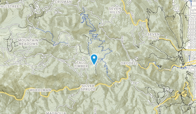 Betasso Preserve Map