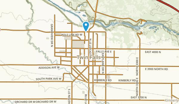 Harmon Park Map