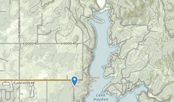 Hayden Lake Sportsman Park Map