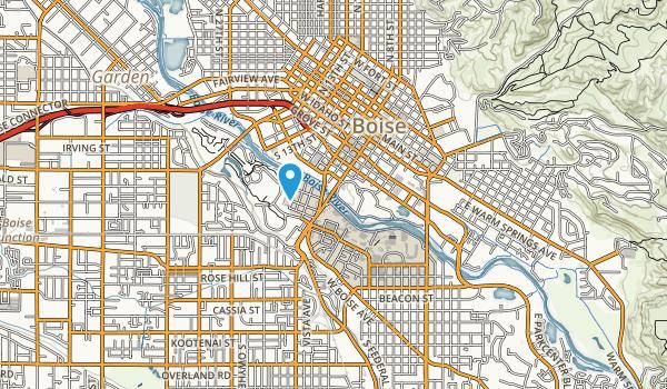 Julia Davis Park Map