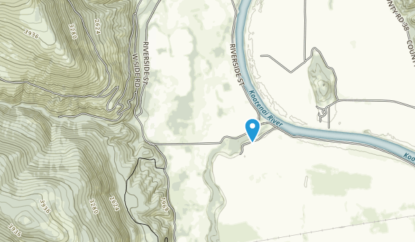 Kootenai National Wildlife Refuge Map