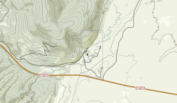 Big Hole National Battlefield Map