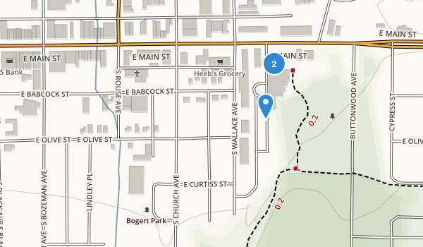 Bogert Park Map