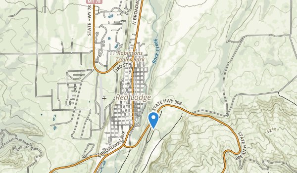 trail locations for Coal Miners Memorial Park