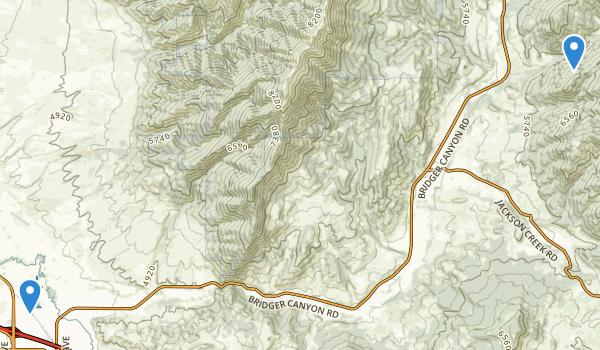 trail locations for Glen Lake Park