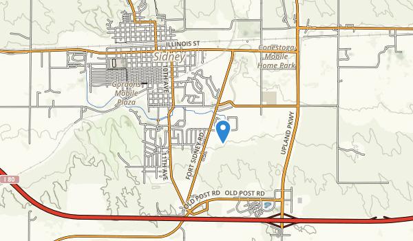 Legion Park Map
