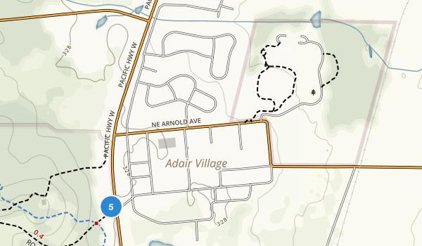 Adair County Park Map