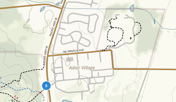 Adair County Park Map