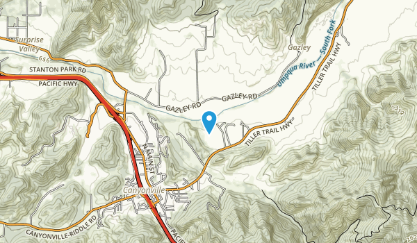 Canyonville County Park Map