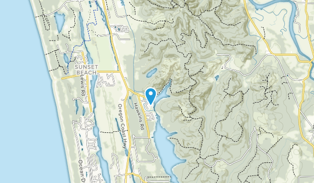 Carnahan County Park Map