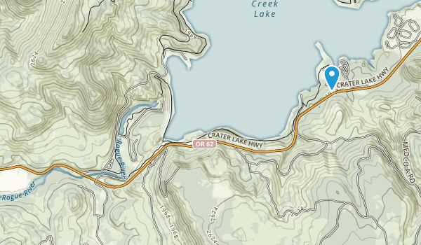 Casey State Park Map
