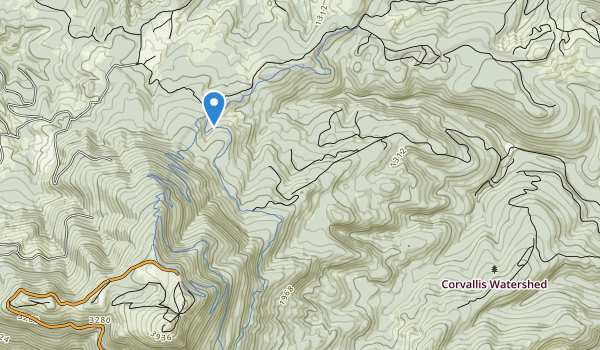 Corvallis Watershed Wild Animal Refuge Map