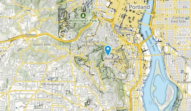 Council Crest City Park Map