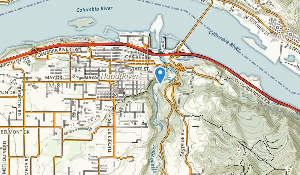 trail locations for Eliot Park