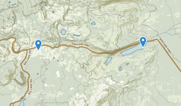 trail locations for Elliot R Corbett II Memorial State Park