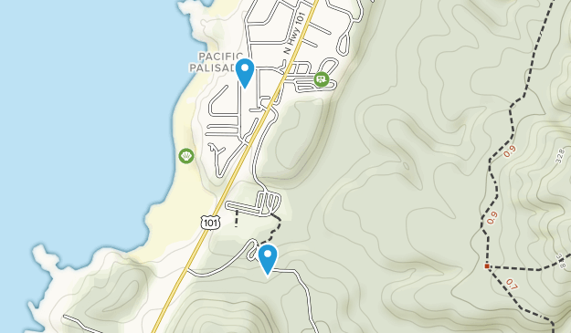Fogarty Creek State Park Map