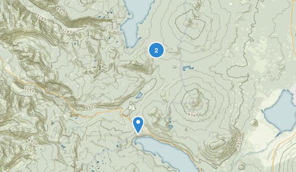 Gold Lake Bog Research Natural Area Map
