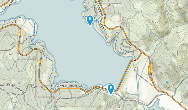 Henry Hagg County Park Map