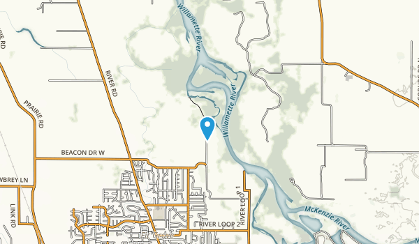 Hileman Landing County Park Map