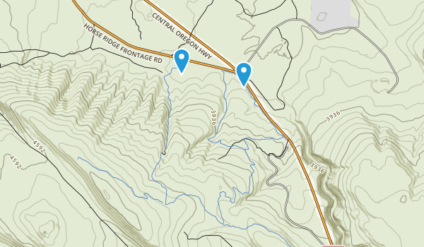 Horse Ridge Natural Area Map
