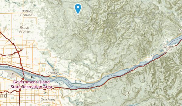 Larch Mountain Corridor Map