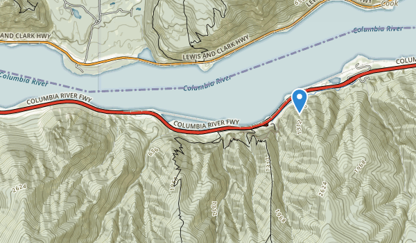 trail locations for Lindsey Creek State Park