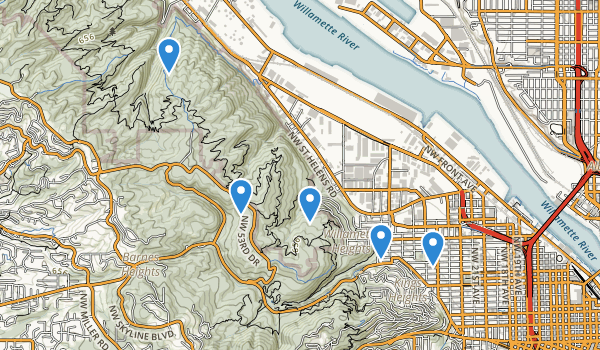 Macleay City Park Map