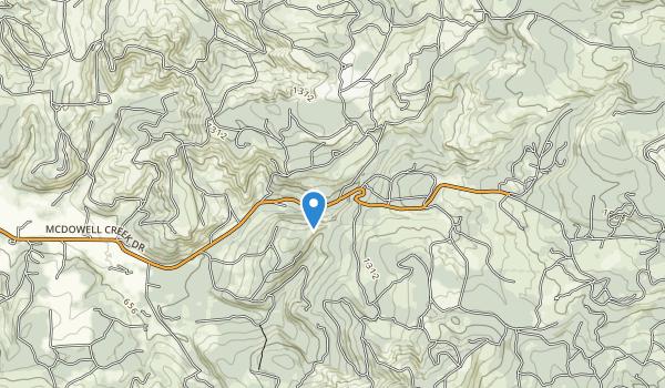 McDowell Creek County Park Map