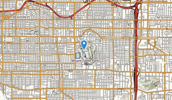 Mount Tabor City Park Map
