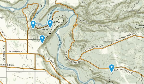 Oxbow Regional Park Map