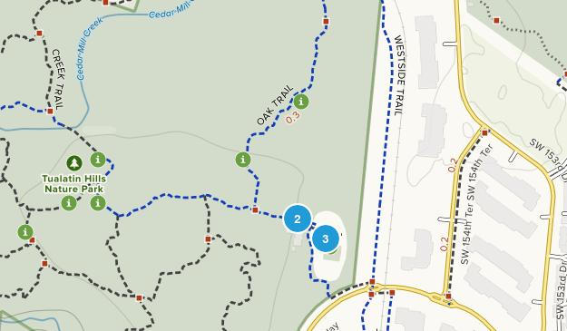 Tualatin Hills Nature Park Map
