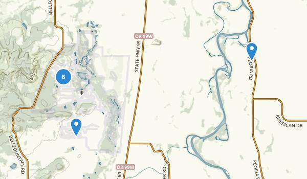 William L Finley National Wildlife Refuge Map