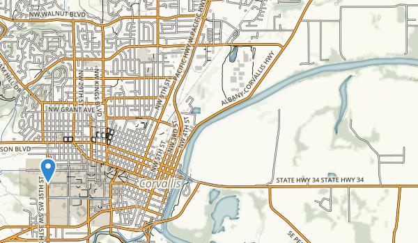 Woodland Meadows City Park Map