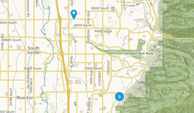 Draper Park Map