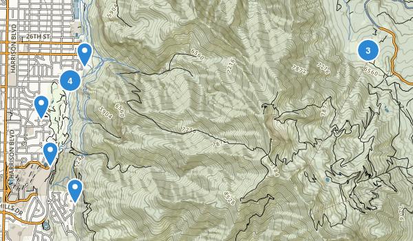 Mount Ogden Park Map